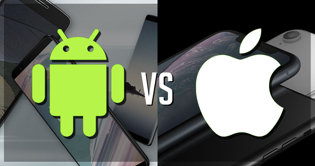 Google/Android versus Apple/iOS